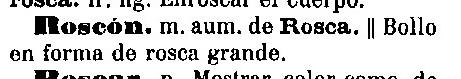 roscón 1884