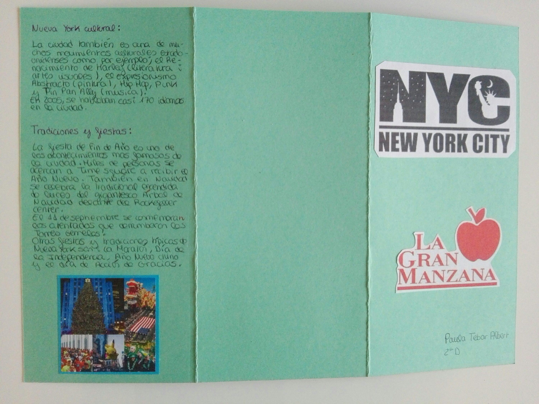 El texto expositivo: el folleto turístico
